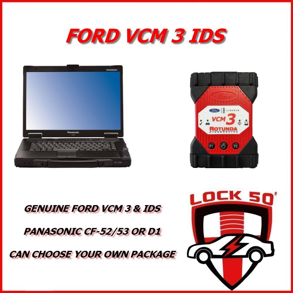 Ford VCM 3 IDS VCM 2 VCM3 BRAND NEW OEM DEALER FULL PROGRAMMING DEALER TOOL