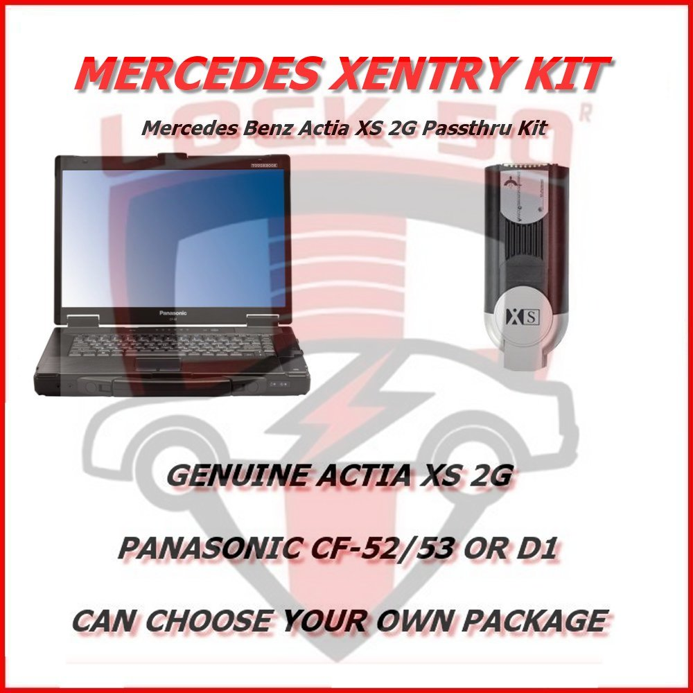 Mercedes Benz Actia XS 2G Passthru Kit